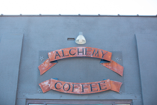 Exterior of Alchemy Coffee