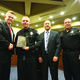 Cody Brotherson was honored, along with eight other police officers, in September by the United States Attorney for Utah, John Huber, for diffusing a situation with a notorious gang member. (West Valley City Police Department)