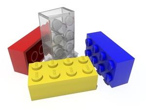 Medium lego transparentbkground bricks