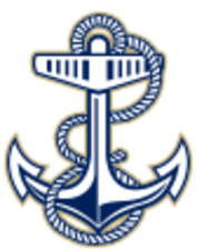 Medium navy 15 mast anchor