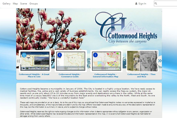 Cottonwood Heights offers many interactive maps for residents to access. Important information provided by these maps can easily be downloaded to personal computers. One of the main purposes of these maps is to make information more easily accessible. (Cottonwood Heights)