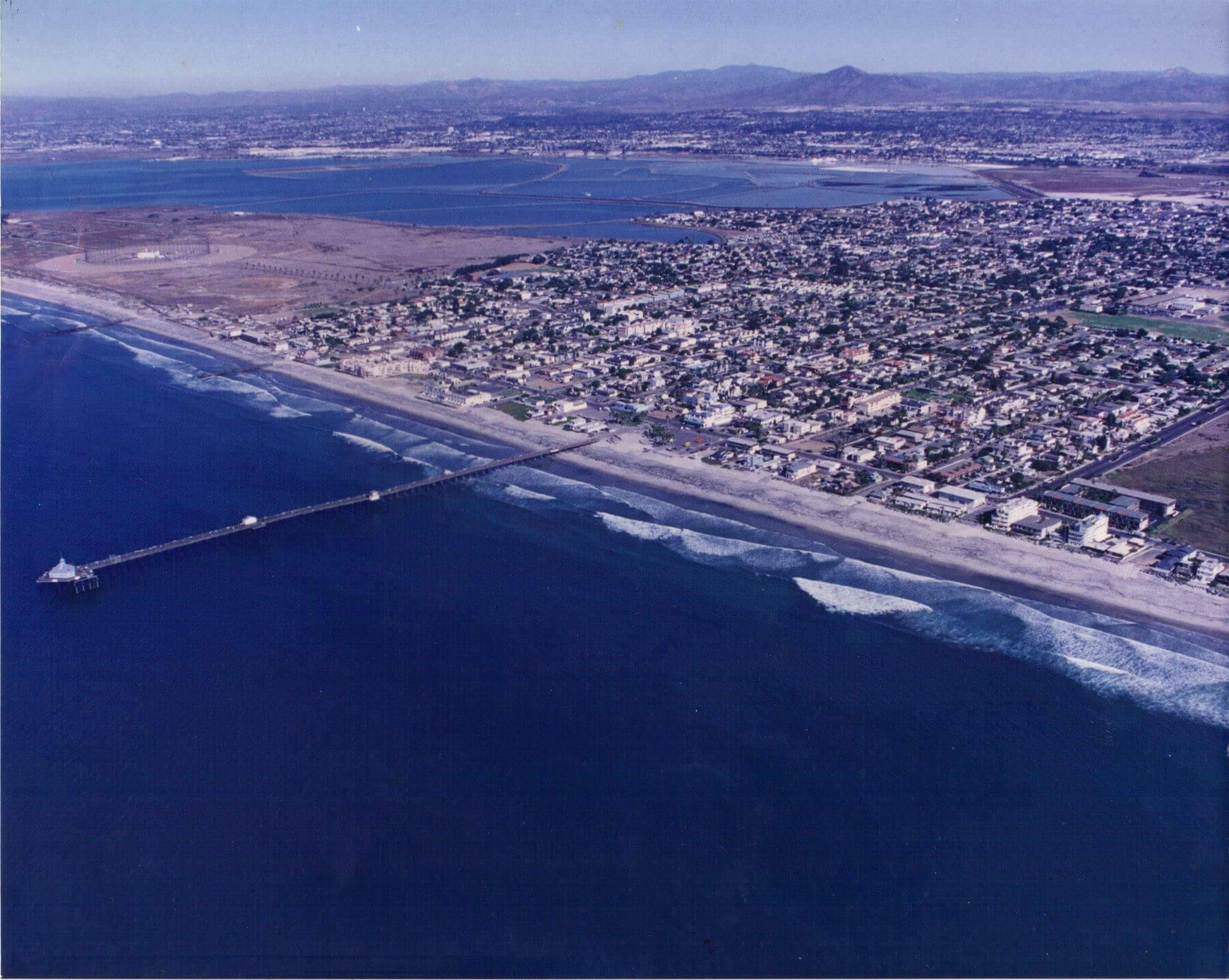 An Imperial Beach Hidden Gem: Old Archive Aerial Photo of Imperial ...