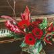 Valentine's Flower Arrangement, $35+ at Flowers on Main, 318 Main Street, Placerville. 530-622-1121, placervilleflowersonmain.com