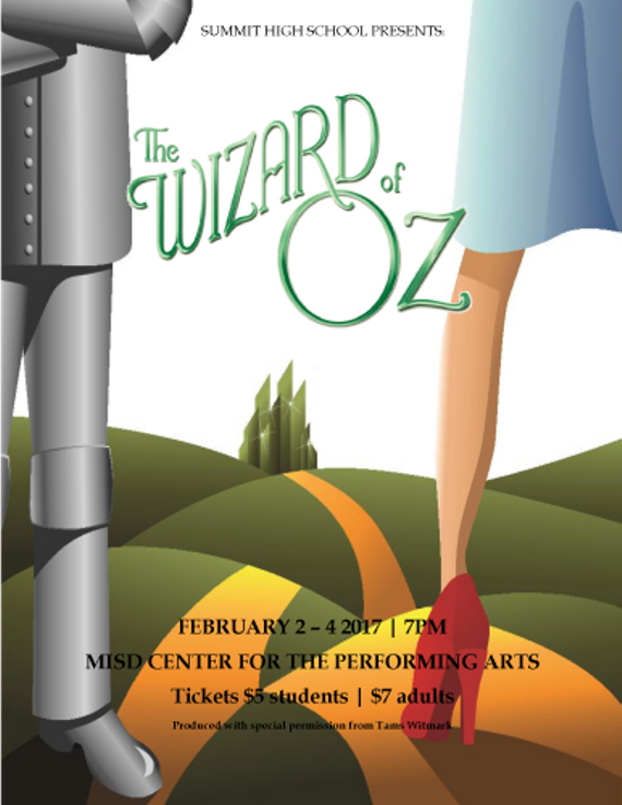 The wizard of oz feb 2017