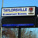 Taylorsville Elementary School Sign (Carl Fauver/City Journals)