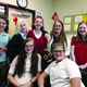 The ABC committee: Back to Front: Vanessa Jacobsen, Keslee Lake, Regan Cox, Megan Sternod, Kylie Garrett, Sabrina Taylor and Kristen Walker. (Salli Robinson/Hawthorn Academy)