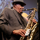 Joe McQueen as he plays during the Jazz and Blues Concert at the Viridian Center. (Excellence in the Community)