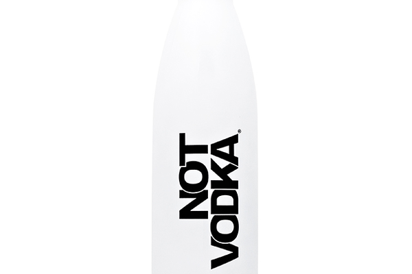 Not Vodka Reusable Bullet Bottle, $32 at notvodkawater.com $1 from every purchase supports Thirst Project or Code Red
