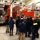 Jason Bosen, UFA engineer, provides fire-truck stats. (Aspen Perry/City Journal)