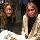 : Brighton Seniors Berkely Pia and Brooke Bell enjoy the post-shadow luncheon. (Rubina Halwani/City Journals)