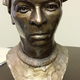 A bust of Harriet Tubman at the Tubman Museum & Educational Center