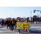 Riverton High School students and community members take a group walk on Jan. 28 to remember those who committed suicide, demonstrate awareness of suicide and encourage suicide prevention. (Riverton City)