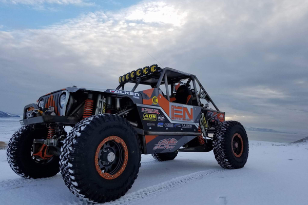 Rawlin McGhie from Taylorsville ran his buggy in the 4400 class at the King of Hammers off-road race. (Rawlin McGhie/McGhie off road racing)