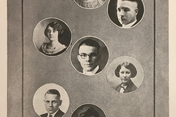 Murray High will welcome current and former faculty to a school centennial reunion. This photo shows faculty from 1924. (Murray School District)