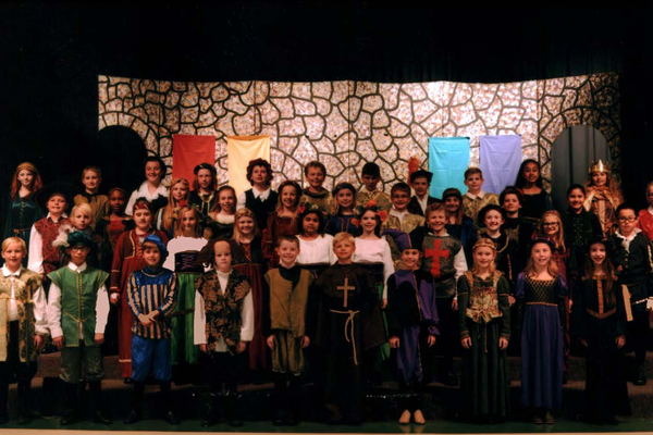 "The 5th-grade classes at Dilworth Elementary, performed William Shakespeare's ""Much Ado About Nothing"". (Linette Sheffield/Dilworth teacher)."