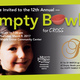 CROSS 12th Annual Empty Bowls event - start Mar 09 2017 0400PM