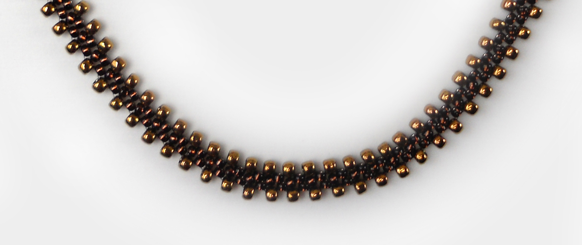 Simple 20choker gold brown section 20175px