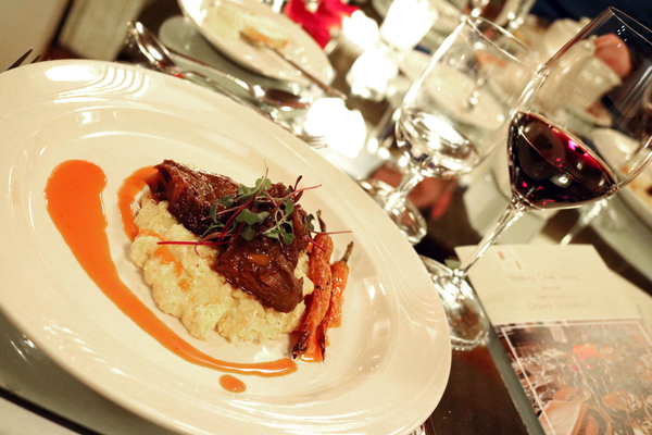 Learn about wine and food pairing at Le Jeune Chef.