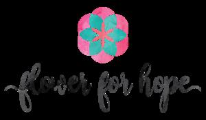 Medium flower for hope logo