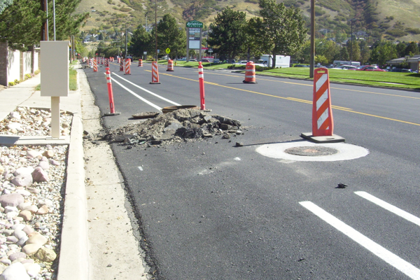 A survey by Y2 Analytics indicated that road maintenance is a major concern for many residents within the city. (Cassie Goff/City Journals)