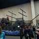 Children hop about a pirate ship playground, ready to take on the seven seas. (Keyra Kristoffersen/City Journals)