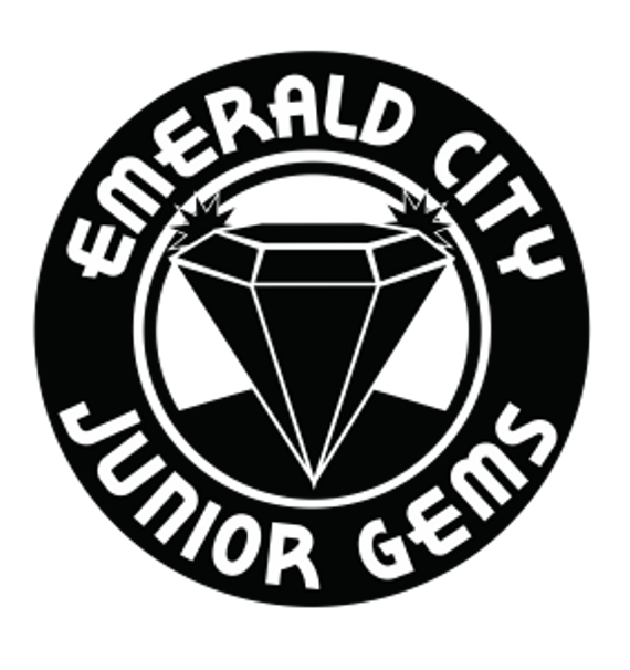 Emeraldcityjuniorgems logo2016 blackwhite 282x300