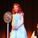 Annie, played by Elizabeth Birkner, sends out a radio message to try to locate her missing parents during a scene in Riverton Art's Council's production of Annie. (Tori La Rue/City Journals)