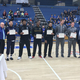 On the opening night of the tournament the all-region awards were announced. The men's all-region team includes Quinn Peters from USU Eastern, Christian Gay from SLCC, Charles Jones and Deishan Booker from CSI and Zach Hunsaker and Blake Truman from Snow. (Greg James/City Journals)