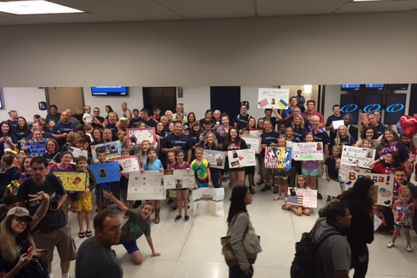 Over 200 people welcomed 52 orphans to Charlotte for 5 weeks to spend time with families.