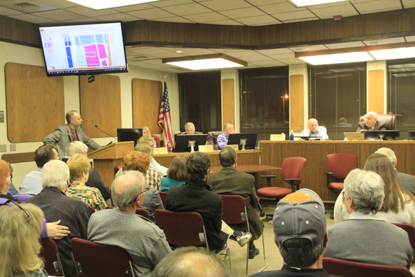 Tim Tingey speaks to the Murray City Council about amending the General Plan, after zone and land use changes have been worked on over the last two years. (Mandy Ditto, City Journals)