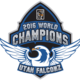 The Utah Falconz have a new logo this season, befitting the title holders. (Utah Falconz)