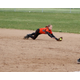 Murray High School's Sophie Richmond dives for a ground ball. (Glossy Sports Photos)