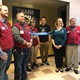 The Lowes team along with Amanda Ree Hughes and members of the Boys & Girls Club cutting the ribbon. (Natalie Mollinet\City Journals).