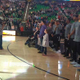 30 Children with rare and undiagnosed diseases from around Utah stood with the Utah Jazz as the national anthem was sung (Wesley Brown/Parent).