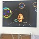 2017 District 279 Student Art Show. Student artist OSH student Cynthia Vang (photo by Wendy Erlien)