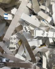Medium shredded 20paper