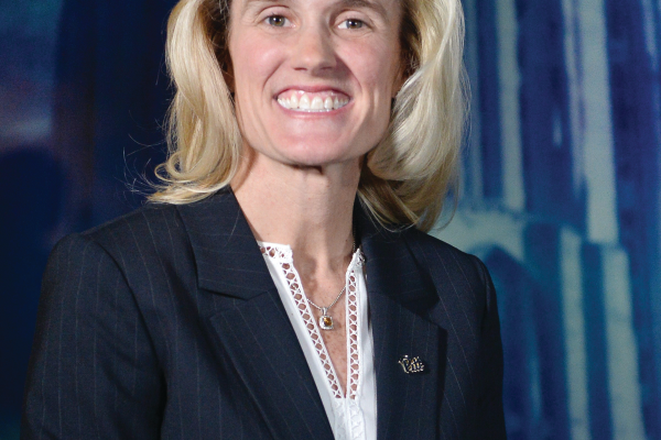 Heather Lyke, athletic director for the University of Pittsburgh