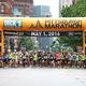 The Pittsburgh Marathon starting line