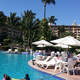 One of the three pools at Velas Vallarta