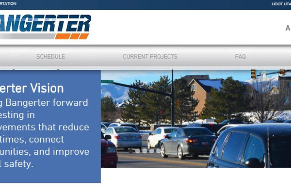 Bangerter Highway will undergo significant summer construction, as part of  UDOT's Improvement Plan. (Utah Department of Transportation)