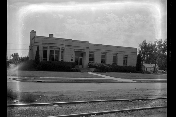 The original Midvale Library from the 1930's. (Ruth Vine Tyler Library)