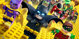 Medium lego batman movie poster characters