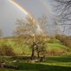 Photo by Jarrod Shull A double rainbow at Stroud Preserve