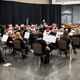 The West Jordan Symphony performed Christmas music for their final concert with their previous conductor, Larry White, in December 2015. (Jon Bowden)