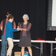 """St. John the Baptist sixth-grader Jacob Anderson receives first place at the regional Salt Lake Valley Science and Engineering Fair for his project, """"Going Bananas for Science."""" (Julie Slama/City Journals)"""