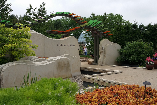 The Children's Garden at the Arboretum at Penn State