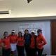 Brighton girls varsity golf team gathers for a photo at the state championship.(Clark Garso/ Brighton High School)