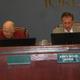 David Newton assumes his new West Jordan City Council seat next to Mayor Kim Rolfe. (Carl Fauver)