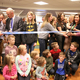 Shannon Flitton, RN, and her nursing team had the honor of cutting the ribbon to open the Jordan Valley Children's Center, the new pediatric wing at Jordan Valley Medical Center. (Jordan Valley Medical Center)
