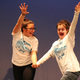 "Arianna Pacheco and Savannah Ames have a blast dancing to ""Under the Sea."" (Kim Westenskow/Hartvigsen School)"